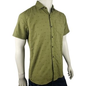 Kuhl Casual Button Up Green Outdoors Shirt Size M